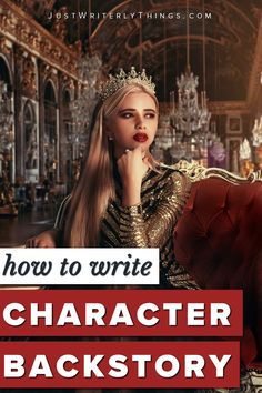 Character backstory is key to exceptional storytelling. Without a backstory, it might be difficult to understand your characters and their motivations. Book Writing Tips, Writing Prompts, Story Structure, A Writer's Life, Writing Characters, Character Development, Self Publishing, Storytelling, Writers
