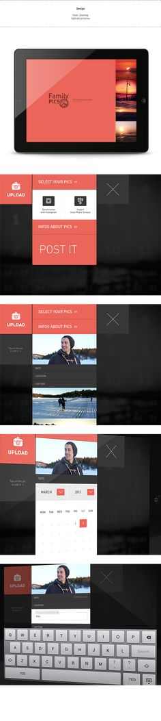 Family Pics is an iPad application to share pictures with close family.Personal project.