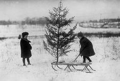 Na začátku 20. století patřily Vánoce mezi nejvýznamnější rodinné a církevní svátky, sekterými se pojilo mnoho zvyků. První dochované zmínky popisují oslavu Vánoc ve 4. století vŘímě. Skládala se de facto ze dvou svátků – narození Ježíše Krista (25. prosince) a Zjevení Páně (6. ledna). To bylo mno
