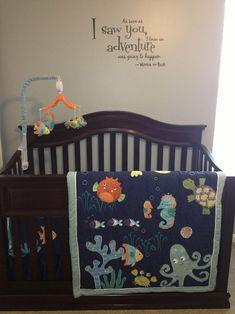 under the sea nursery bedding
