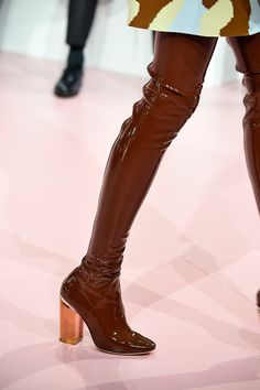 These Dior Shoes Are Gonna Be EVERYWHERE #refinery29  http://www.refinery29.com/2015/03/83460/christian-dior-boots-fall-2015-paris-fashion-week#slide-2