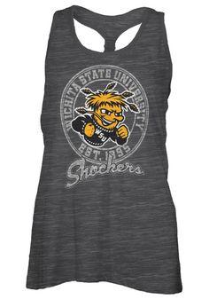 Wichita State Shockers Womens Tank Top - Black WSU Andrea Sleeveless Shirt http://www.rallyhouse.com/shop/wichita-state-shockers-pressbox-22640089?utm_source=pinterest&utm_medium=social&utm_campaign=Pinterest-WSUShockers $19.99