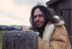 Neil Young Barn 1971 | From a unique collection of portrait photography at https://www.1stdibs.com/art/photography/portrait-photography/