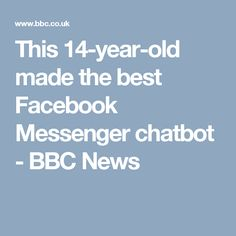 What is a Chatbot ?