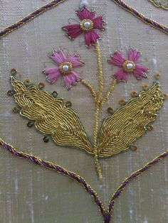 Make, Do and Gem: Goldwork and The WI AGM