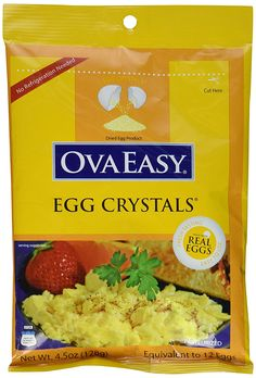 OvaEasy Powdered Whole Eggs (6-pack of 4.5 oz. bags) * Check out the image by visiting the link.