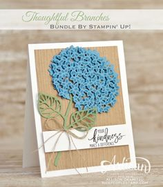 Thoughtful Branches Card & Tag: Stampin' Up! Artisan Blog Hop | nice people STAMP! | Bloglovin'