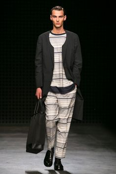 A look from the Casely-Hayford Spring 2016 Menswear collection.