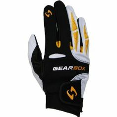 Gearbox Racquetball Yellowjacket Glove by Gearbox Racquetball. $16.99. The Yellowjacket is the next level for racquetball gloves. It offers comfort reliability durability and excellent protection as well. It takes all the great features of the Movement glove and adds TPR Dive Protection. Think of it as a bumper guard for your hand. In addition improved use of Neoprene and Spandex make this the new go-to glove in racquetball. Victory is at hand.FEATURESPittard English Lea...