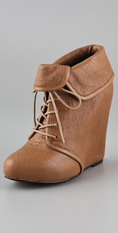 Elizabeth And James Manor Wedge Booties thestylecure.com
