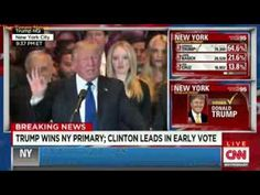 Trump Gives Victory Speech After Winning New York Primary