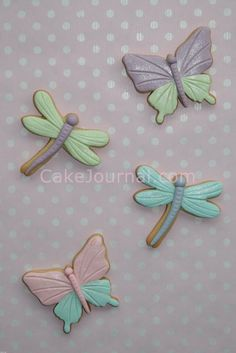 Tea party & insect cookies