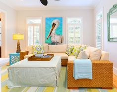 House of Turquoise: Cindy Mihuc of GDC Home | coastal family room