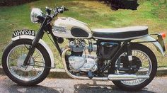 Vintage Triumph Bonneville If I had on, I would want one like this
