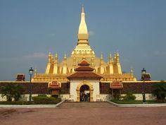 templo pha that luang, laos