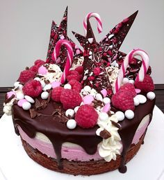 Baking of. Pie Recipes, Dessert Recipes, Desserts, Home Bakery, Chocolate Lovers, Let Them Eat Cake, Beautiful Cakes, Cake Decorating, Sweet Treats