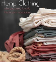 Trying to reduce the carbon footprint of your clothing? Here are a few benefits of hemp clothing when planning your sustainable closet! #prAnamom #ad