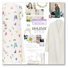 """""""Quit Playing Games (With My Heart), Backstreet Boys"""" by blendasantos ❤ liked on Polyvore featuring Cynthia Rowley, ...Lost, NOVICA, Nancy Gonzalez, Carole, floral, holidaystyle and oversizeddress"""