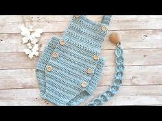 Crochet Bebe, Crochet Projects, Bb, Youtube, Crochet Purses, Log Projects, Easy Crafts, Crochet Baby, One Piece