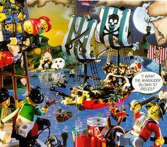 latest (643×564) Caribbean Sea, Pirates Of The Caribbean, Lego Creations, Lego Sets, Legos, Catalog, Childhood, Action, Boys