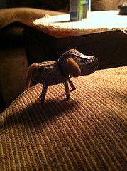 Peanut Pooch (discodiva1979) Tags: dog art ooak craft peanut pooch
