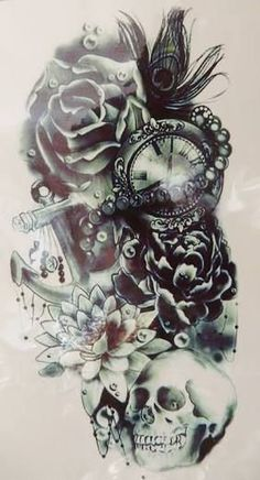 9e6efcba3 Image result for new school tattoo sleeve sketches Tattoos For Women Half  Sleeve, Tattoo Sleeves
