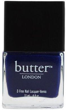 Butter London - Dark Nail Polish (Royal Navy) - Beauty Butter London