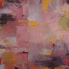 Jeannie Sellmer, Pinkish, oil 30 x 30 inches
