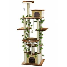 Go cat Club Beige 85-inch Cat Tree -- Amazing product just a click away  : Cat Tree and Tower