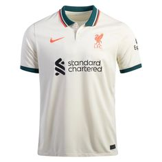 Liverpool 21/22 Away Men Soccer Jersey Personalized Name and Number – zorrojersey Liverpool Waterfront, Professional Wear, Jersey Shirt, Champions League, Premier League, Soccer, 21st, Stand Tall, Nike