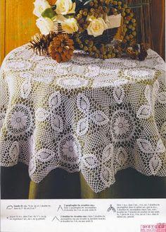 Kira crochet: Crocheted motif no. 333