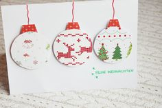 DIY {christmas cards}