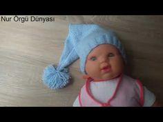 6 ay - 1 yaş Bebek Beresi - 6 ay - 1 yaş Kız Bebek Beresi Yapımı - Bebek Beresi Yapımı - YouTube Crochet Hats, Youtube, Knitting Hats, Youtubers, Youtube Movies