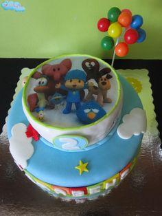 Pocoyo ** O bolo do pequeno Santiago
