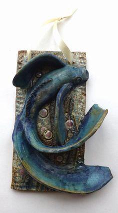 Fish Plaque by Maggie Betley