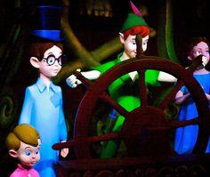 Peter Pan's Flight. Disneyland Park.