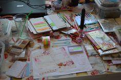Week 6 filofax planning table 2016