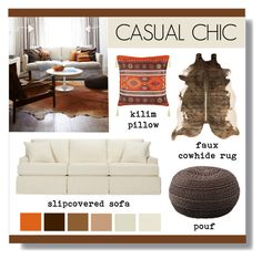 """""""Casual Chic"""" by lgb321 ❤ liked on Polyvore featuring interior, interiors, interior design, home, home decor and interior decorating"""