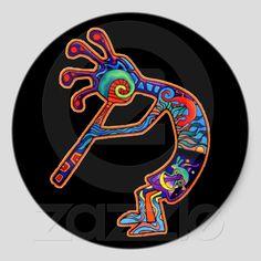 Kokopelli -  fertility god, prankster, healer and story teller