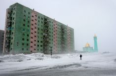 Arctic Cities Crumble as Climate Change Thaws Permafrost