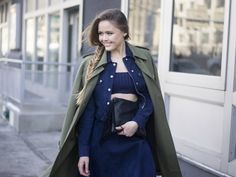 Pin for Later: The Street Style Hot Enough to Make You Forget the Cold NYFW Day Seven Kristina Bazan