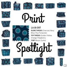 Print Spotlight for Spring/Summer 2017 Thirty-One - La-Di-Dot  #newcatalog #Carrie31Bags