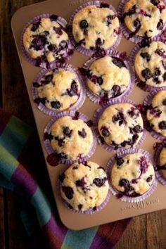 Nana's Blueberry Muffins | Holidays
