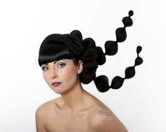 hair design photo by Photo Studio Hair Photography, Photography Ideas, Hair Designs, Photo Studio, Portrait Photographers, Bliss, Hair Beauty, Wedding, Style