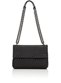 fed32c0b326 Bottega Veneta - Belted Basket-Weave Leather Satchel - Saks.com ...