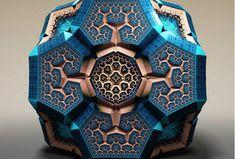 """Estes """"Fractais Fabergé"""" vão explodir sua mente   Universo Racionalista"""