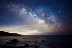 Milky Way Rising over Gerstle Cove, Salt Point State Park, CA