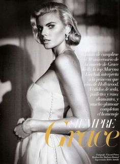 The Vogue Espana January 2012 Issue Drives Back to the 20s #hollywood #hair trendhunter.com