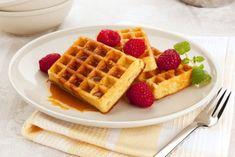 Für eine leichte Ernährung bietet sich ein Waffelrezept ohne Butter gut an.