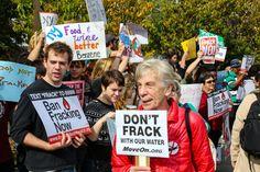 Ambientalistas durante una manifestación en 2013 en Nueva York. Foto: Shutterstock